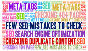 How to avoid seo mistakes