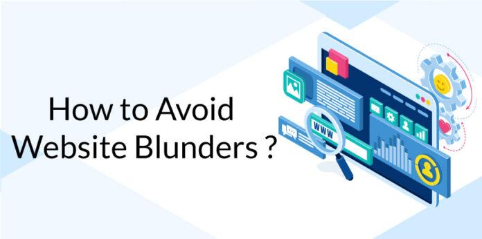 Website Blunders