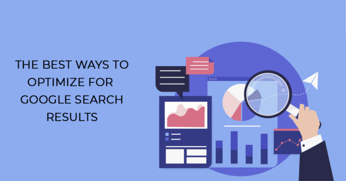 Optimize For Google Search Results