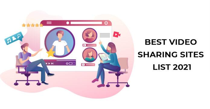 Video sharing site list
