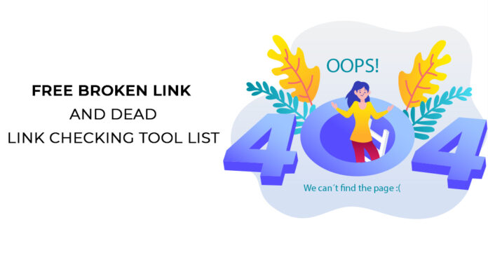 Link Checker tools