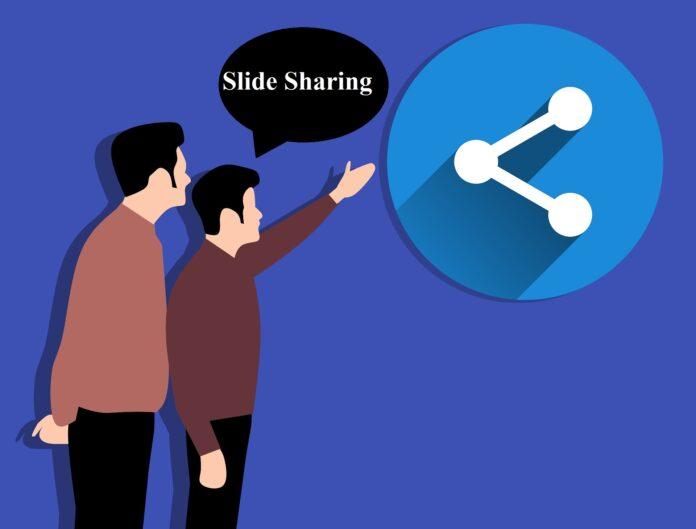 Slide sharing list