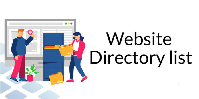 Website directory list